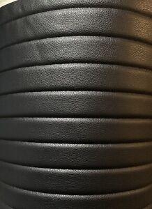 "Vinyl Leather Faux vinyl Black 2"" Stripe Quilted auto headliner headboard"