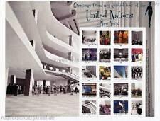 ONU New york - 2012 grussmarken Arc guides à l'association. Nations 1284-93