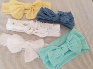 Baby girl headband bundle