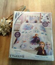 Disney Frozen II Reversible Single Duvet Cover set with Pillow Case Bnwt