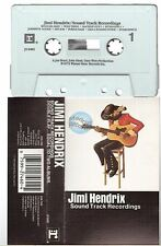 JIMI HENDRIX cassette K7 tape SOUND TRACK RECORDINGS usa