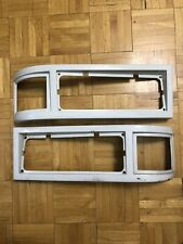 MCI Bus Parts D4500 Left And Right Headlight Trim Covers