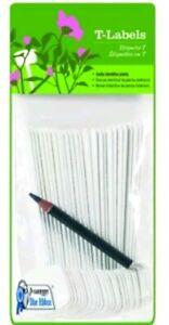 Gardener's Blue Ribbon T023A Plant T-Labels, 5-Inch
