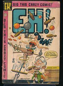 EH! No. 5 1954 Charlton Satire Comic Book Ottenheimer GGA Cover 2.0 GD vv
