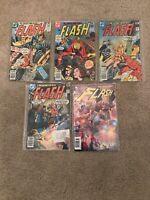 The Flash Comics Lot # 261, 262, 263 & 275 - VF - DC Comics