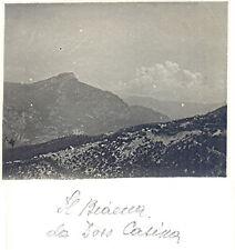 Il B.... da Doss Casina - Trento Verona - foto periodo WW1 WWI guerra