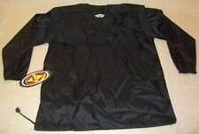 Easton Long Sleeve Black Game Day Pullover Jacket Youth Xl Windbreaker A161952