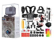 NEW SEALED GoPro HERO7 White HD Waterproof Action Camera 32GB Sports Bundle