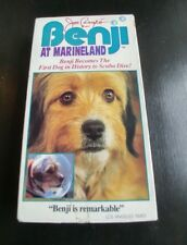 For the Love of Benji/Benji At Marineland (VHS, 1991)