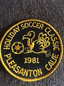 Pleasanton California Soccer Association Team Club 1980's Patch