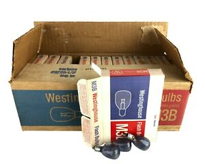 Westinghouse M3B Flashbulbs Lot of 12 Boxes - 12 Bulbs Per Box 144 Total Bulbs