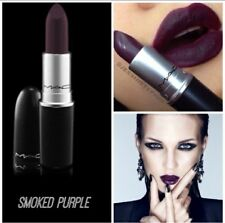 mac matte lipstick in SMOKED PURPLE read listing