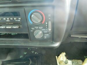 Temperature Climate Control With AC Fits 95-97 CHEVROLET BLAZER S10/JIMMY S15