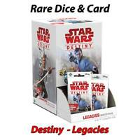 Star Wars Destiny - Legacies - Rare Cards & Dice - Free Postage