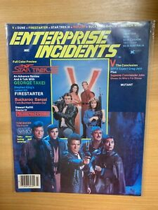 "*RARE* JULY 1984 STAR TREK ""ENTERPRISE INCIDENTS"" #19 USA MAGAZINE (P4)"