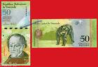 VENEZUELA 50 Bolivares 2008 Pick 92 SC / UNC