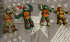 TMNT Teenage Mutant Ninja Turtles Lot 4 Action Figur Figuren Modell Spielzeug
