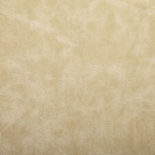 Cream Beige Soft Faux Leather Grain Upholstery Fabric
