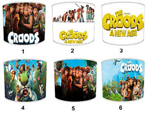 The Croods Lampshades, Ideal To Match The Croods Wall Decals & Stickers.