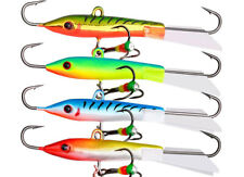 Winter Ice Fishing Lure Minnow 6.5g/7.7cm Lead Jig Hard Bait Pike Walleye Tackle