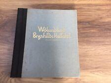 Wölundlied Brynhilds Helfahrt Edda Blockbücher Holzschnitte von Klaus Wrage 1926
