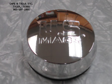 """US Mags center cap US MAGS WHEEL Center cap Domed 3"""" O-ring Polished NEW"""