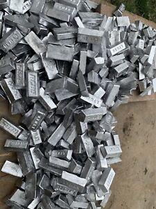50lbs Clean Fluxed Soft Lead 1lb Ingots Sinkers Bullets Fishing Weights Jigs