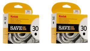 New Genuine Kodak 30 2pk Black Ink Cartridge, ESP Office 2150, hero 2.2