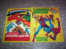 ALBUM L'UOMO RAGNO E I FANTASTICI QUATTRO DN 1978 COMPLETO EDICOLA TIPO PANINI