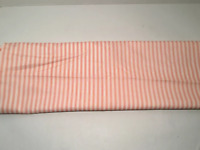 "Vintage Quilting Fabric, Cotton, 2 Yards 30"" Red & White Striped"