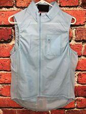 EUC Rapha Gilet II Pale Blue XL Men's Cycling Vest Packable