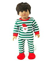 Pajama Santa For 18 inch American Girl Boy Doll Clothes Accessories Nightwear