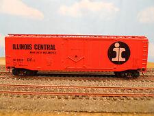 "HO SCALE KAR-LINE IC ILLINOIS CENTRAL ""MAIN LINE OF MID-AMERICA"" 50' BOX CAR"