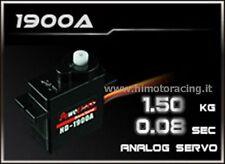 HD-1900A MINI SERVO DA 1,5kg AD ALTA VELOCITA' SERVO HIGH SPEED POWER