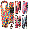 Retro Style Lanyard Neck Strap for ID Badge holder with Metal Clip SpiriuS s