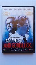 DVD - GOOD NIGHT, AND GOOD LUCK. DI GEORGE CLOONEY - USATO VERSIONE NOLEGGIO