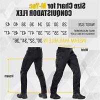 Conquistador Flex - Tactical Pants Men - with Cargo, Black, Size 40W x 32L ofIp