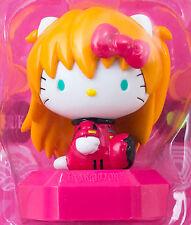 Evangelion Hello Kitty Asuka Langley Mini Figure Sanrio JAPAN ANIME MANGA