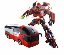 MZ Transformers 2372P RC Bus Remote Control Robot Car Optimus Prime Bumblebee