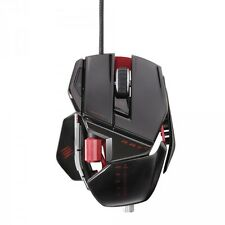 Mad Catz Cyborg R.A.T. RAT 5 Gaming Laser Mouse 5600 dpi Gloss Blk for PC & Mac