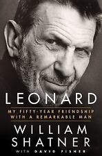 (NEW) Leonard by William Shatner My Fifty-Year Friendship with.. Nimoy HARDCOVER
