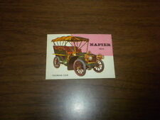 WORLD ON WHEELS Topps trading card #104 - T.C.G. Printed in U.S.A 1953 1954 1955
