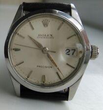 Vintage Rolex Oysterdate precision ref 6466 mid size 1965 Manual Handwinding