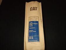 CAT CATERPILLAR 776D TRACTOR 777D TRUCK SERVICE SHOP REPAIR MANUAL AFS AGC AGY