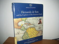 Hernando de Soto and Explorers of American South/HB/Chelsea house/1991/1st print