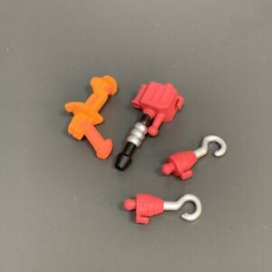 5PCS He-man MOTU Masters of The Universe Axe Gun Hook Weapons Accessories Toys