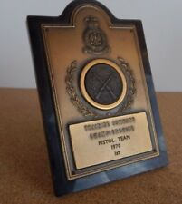 RAF Shooting Trophy Training Command Championships Pistol Team 1970 1st