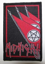Midnight - Flags PATCH (Black) Speedwolf Venom Toxic Holocaust Hellhammer