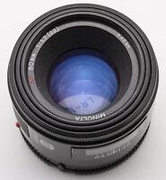 Minolta AF 50mm 50 mm Lens 1.7 1:1.7 (22) - AF Dynax Sony