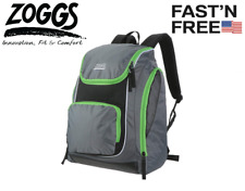 Zoggs Waterproof Poolside Backpack for Swimmers and Athletes Large Pockets